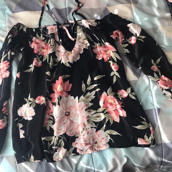 Charlotte Russe Tops - Off the shoulder blouse